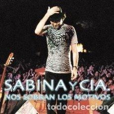 CDs de Música: NOS SOBRAN LOS MOTIVOS - JOAQUÍN SABINA - 2 CD. Lote 211095399