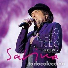 CDs de Música: LO NIEGO TODO EN DIRECTO - JOAQUÍN SABINA - 1 CD + 1 DVD. Lote 211120684