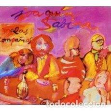 CDs de Música: MALAS COMPAÑÍAS (DIGIPACK) - JOAQUÍN SABINA - 1 CD. Lote 211114501