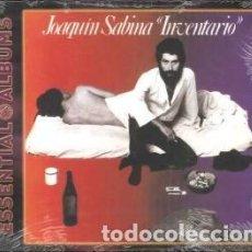 CDs de Música: INVENTARIOS (ESSENTIAL ALBUMS) - JOAQUÍN SABINA - 1 CD. Lote 211144406