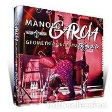 CDs de Música: GEOMETRÍA DEL RAYO EN DIRE... - MANOLO GARCÍA - 2 CD + 1 DVD. Lote 211168391