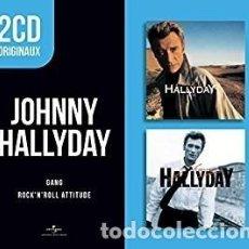CDs de Música: GANG. ROCK'N'ROLL ATTITUDE - JOHNNY HALLYDAY - CD. Lote 211170606