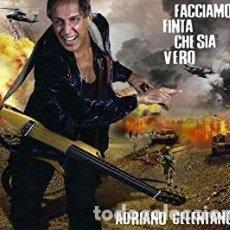 CDs de Música: FACCIAMO FINTA CHE SIA VERO - ADRIANO CELENTANO - 1 CD. Lote 211178454