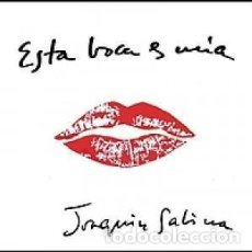 CDs de Música: ESTA BOCA ES MÍA - JOAQUÍN SABINA - 1 CD. Lote 211180567