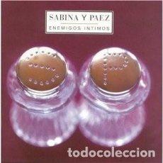 CDs de Música: ENEMIGOS ÍNTIMOS - JOAQUÍN SABINA, FITO PAEZ - 1 CD. Lote 211183537
