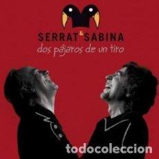 CDs de Música: DOS PÁJAROS DE UN TIRO - JOAQUÍN SABINA, JOAN MANUE... - 1 CD + 1 DVD. Lote 211191052