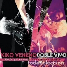 CDs de Música: DOBLE VIVO - KIKO VENENO - 2 CD. Lote 211191769