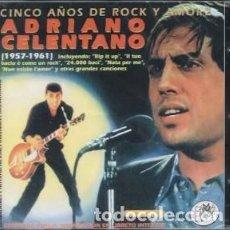 CDs de Música: CINCO AÑOS DE ROCK Y AMORE... - ADRIANO CELENTANO - 2 CD. Lote 211211406