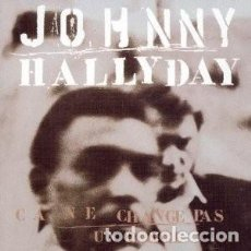 CDs de Música: CA NE CHANGE PAS UN HOMME - JOHNNY HALLYDAY - 1 CD. Lote 211219239