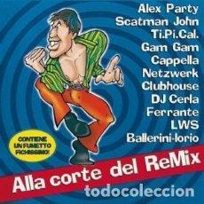 CDs de Música: ALLA CORTE DEL REMIX - ADRIANO CELENTANO - 1 CD. Lote 211242414