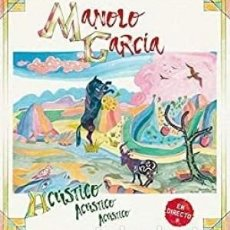 CDs de Música: ACÚSTICO, ACÚSTICO, ACÚS... - MANOLO GARCÍA - CD. Lote 211245779