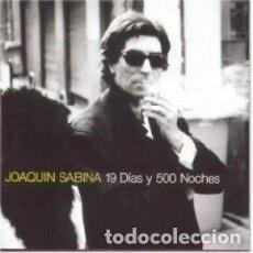 CDs de Música: 19 DÍAS Y 500 NOCHES - JOAQUÍN SABINA - 1 CD. Lote 211251100