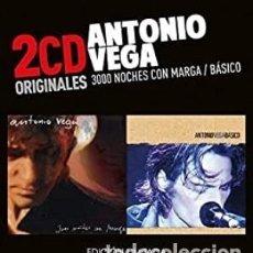 CDs de Música: 3000 NOCHES CON MARGA / BÁ... - ANTONIO VEGA - CD. Lote 211251564