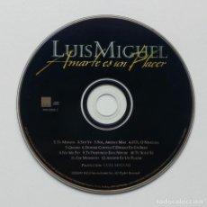 CDs de Música: AMARTE ES UN PLACER - LUIS MIGUEL - CD - WEA 3984-29288-2 - 1999. Lote 211258196