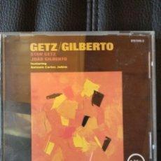 CDs de Música: GETZ/GILBERTO FEATURING ANTONIO CARLOS JOBIM. Lote 211268986