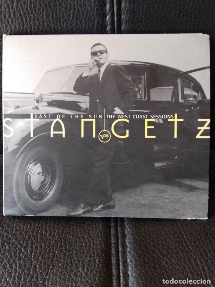 STAN GETZ - EAST OF THE SUN THE WEST COAST SESSIONS (Música - CD's Jazz, Blues, Soul y Gospel)