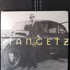 CDs de Música: STAN GETZ - EAST OF THE SUN THE WEST COAST SESSIONS. Lote 211269654