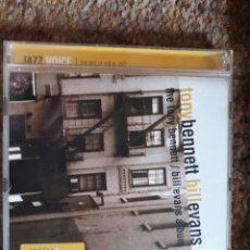 CDs de Música: TONY BENNETT , BILL EVANS , CD ESTADO IMPECABLE ENVIO ECONOMICO. Lote 211270274