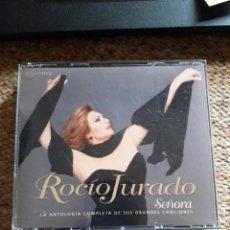CDs de Música: ROCIO JURADO , SEÑORA , ANTOLOGIA COMPLETA , 2 CDS + DVD , ESTADO IMPECABLE ENVIO ECONOMICO. Lote 211270737