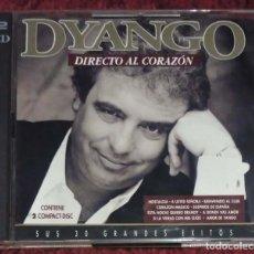 CDs de Música: DYANGO (DIRECTO AL CORAZON - SUS 30 GRANDES EXITOS) 2 CD'S 1993 EMI. Lote 211273161