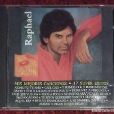 CDs de Música: RAPHAEL (MIS MEJORES CANCIONES - 17 SUPER EXITOS) CD 1993 EMI U.S.A. * RARO. Lote 211274422