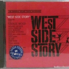 CDs de Música: WEST SIDE STORY - BANDA SONORA - CD. Lote 211277364