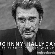 CDs de Música: HALLYDAY JOHNNY - LES ALBUMS STUDIO WARNER (CD NUEVO). Lote 211315777