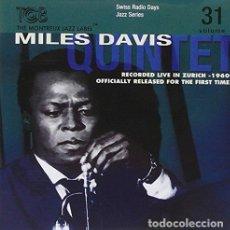 CDs de Música: MILES DAVIS QUINTET - RADIO DAYS VOL 31 (CD NUEVO). Lote 211341336