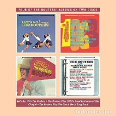 CDs de Música: ROUTERS - LET'S GO - PLAY 1963'S - CHARGE! - PLAY THE CHUCK BERRY (CD NUEVO). Lote 211357442