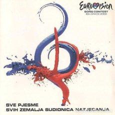 CDs de Música: VARIOUS ARTISTS - EUROVISION SONG CONTEST - BELGRADE 2008 (CD NUEVO). Lote 211374802