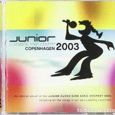 CDs de Música: VARIOUS ARTISTS - JUNIOR EUROVISION SONG CONTEST - COPENHAGEN 2003 (CD NUEVO). Lote 211378776