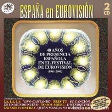 CDs de Música: VARIOUS ARTISTS - ESPANA EN EUROVISION (CD NUEVO). Lote 211381402