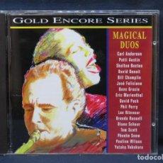 CDs de Música: MAGICAL DUOS - GOLD ENCORE SERIES - CD. Lote 211388835