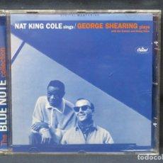 CDs de Música: NAT KING COLE / GEORGE SHEARING ?– NAT KING COLE SINGS - CD. Lote 211404411