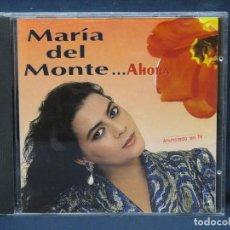 CD di Musica: MARIA DEL MONTE - AHORA - CD. Lote 211407809