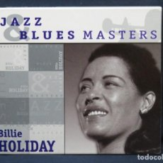 CDs de Música: BILLIE HOLIDAY - JAZZ & BLUES MASTERS - CD. Lote 211409882