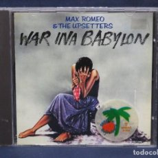 CDs de Música: MAX ROMEO & THE UPSETTERS ‎– WAR INA BABYLON - CD. Lote 211416272