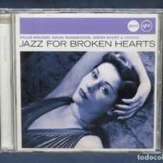 CDs de Música: VARIOS - JAZZ FOR BROKEN HEARTS - CD. Lote 211417246