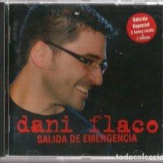 CDs de Música: CD DANI FLACO : SALIDA DE EMERGENCIA ( EDICION ESPECIAL CON 2 BONUS TRACKS + 2 VIDEOS ). Lote 211421885
