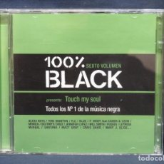 CDs de Música: VARIOS - 100% BLACK - 2 CD. Lote 211422066