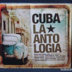 CDs de Música: VARIOS - CUBA LA ANTOLOGIA - 3 CD. Lote 211423486