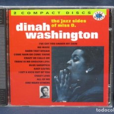 CDs de Música: DINAH WASHINGTON - THE JAZZ SIDES OF MISS D. - 2 CD. Lote 211424576