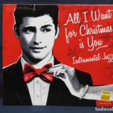 CDs de Música: ALL I WANT FOR CHRISTMAS IS YOU - INSTRUMENTAL JAZZ - CD. Lote 211425914