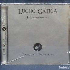CDs de Música: LUCHO GATICA - 50 CANCIONES INMORTALES - COLECCION DEFINITIVA - 2 CD. Lote 211426445