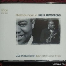 CDs de Música: LOUIS ARMSTRONG (THE GOLDEN YEARS OF LOUIS ARMSTRONG) 3 CD'S 2003. Lote 211428372