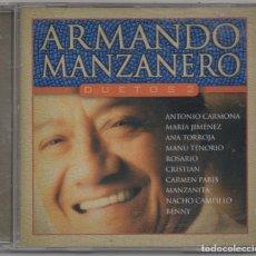 CDs de Música: ARMANDO MANZANERO - DUETOS 2 / CD ALBUM DEL 2002 / MUY BUEN ESTADO RF-6699. Lote 211433742