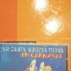 CDs de Música: G-14 CD MUSICA ASI CANTA NUESTRA TIERRA EN CARNAVAL. UN SIGLO DE COPLAS. Lote 211438692