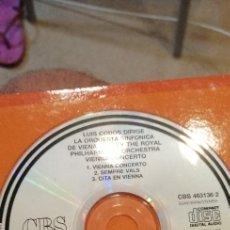 CDs de Música: CAJ-101217 CD MUSICA SOLO CD SIN CARATULA LUIS COBOS VIENNA CONCERTO. Lote 211438985