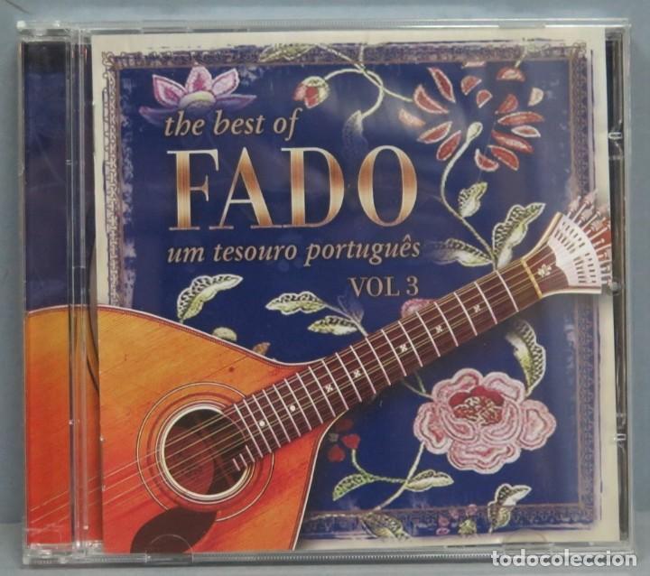 CD. THE BEST OF FADO. UM TESORO PORTUGUES. VOL. 3 (Música - CD's Otros Estilos)