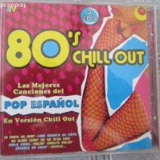 CDs de Música: 80'S CHILL OUT CD - ( LAS MEJORES CANCIONES DEL POP ESPAÑOL EN VERSION CHILL OUT ) - 2 CD. Lote 211450147